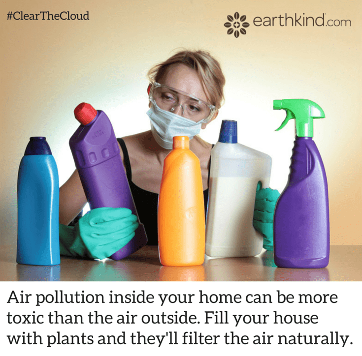 Cleaning Chemicals Can Pollute the Air in Your Home #ClearTheCloud