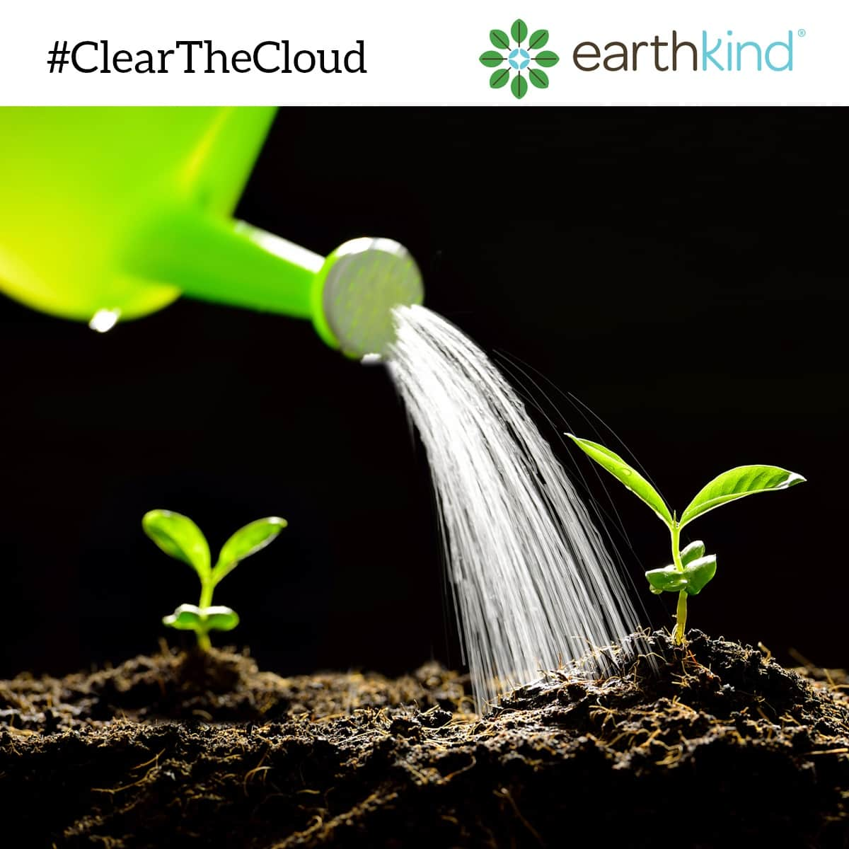 Use Organic Compost to Save on Watering for Plants #ClearTheCloud, earthkind