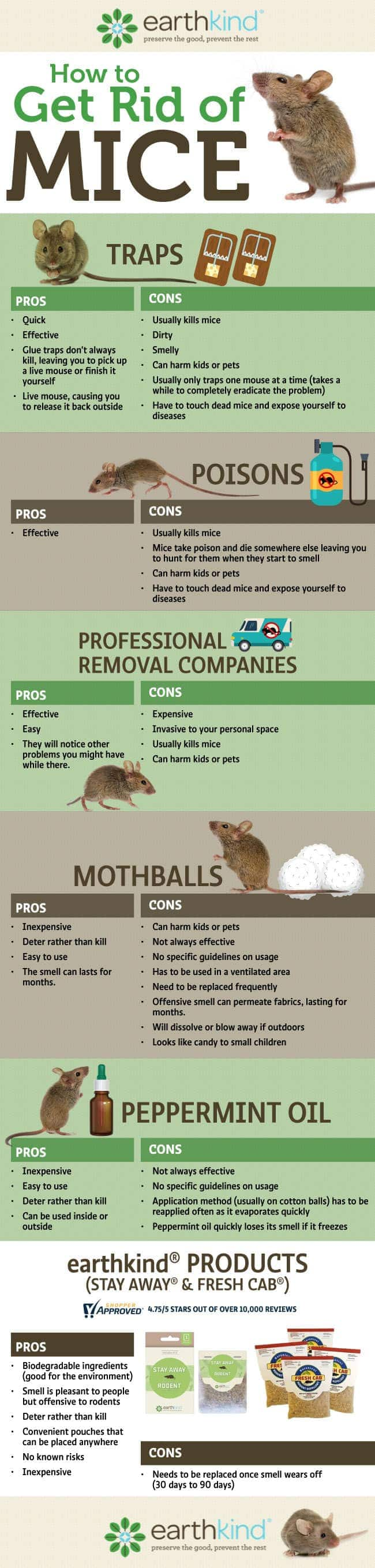 How to Get Rid of Mice Best Botanical Prevention Earthkind