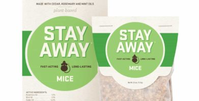 A New Way to Get Rid of Mice:  Stay Away® Mice