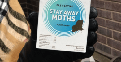 EarthKind Stay Away Moths for clothing