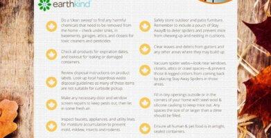 Home Health Checklist to Prevent Pests