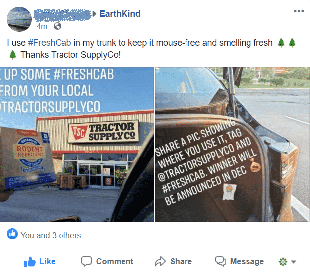 Sample FB Post