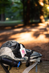 Unscented insect repellent to use outdoors, camping, hiking, and biking.