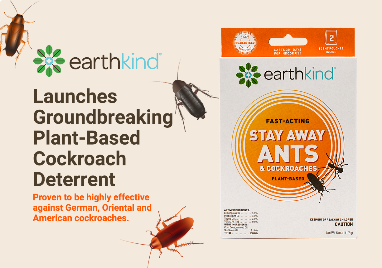 Stay Away Ants and Cockroaches deterrent pouch by EarthKind